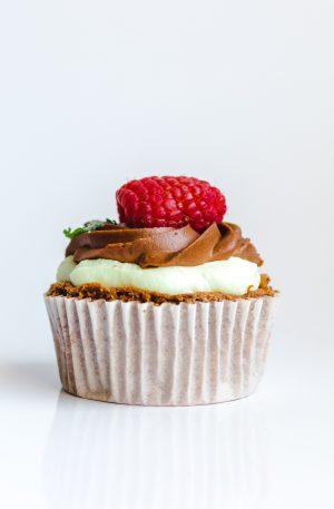 Mini Gâteau Choco Fraise