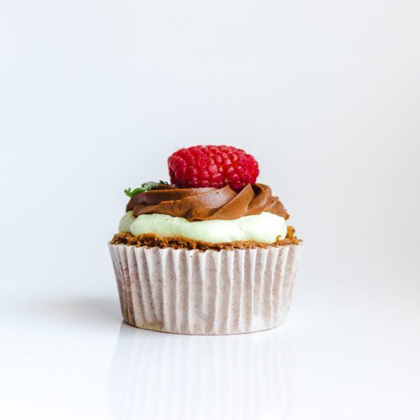 mini gateau chocolat fraise